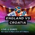 Croatia v England @ EGRFC