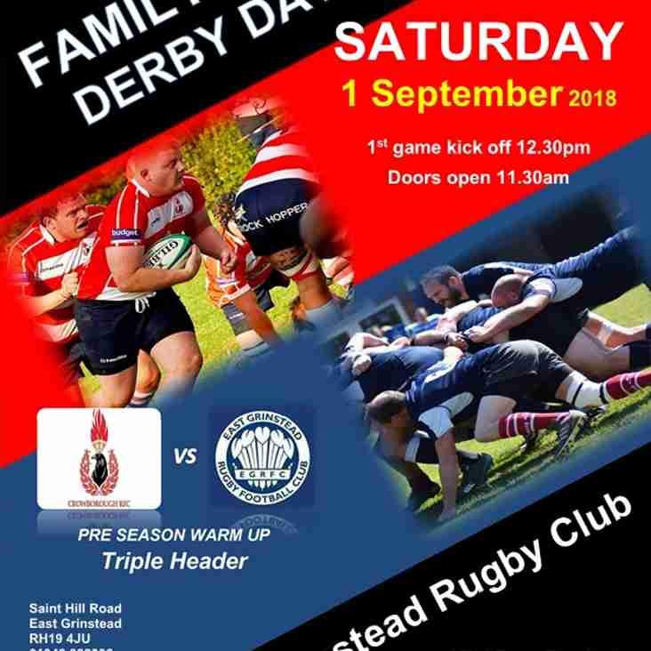 Family Fun - EGRFC Derby Day!