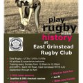 Play Rugby Make History at EGRFC