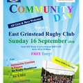 EGRFC NatWest Community Day - this Sunday, 16 September 2018