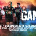 BIG GAME 11 - Harlequins v Wasps, Saturday 29 December 2018
