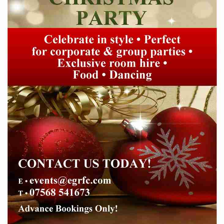 Looking for a Christmas Party Venue?