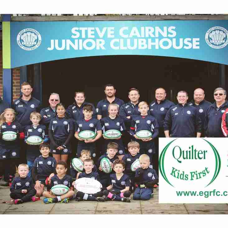 HELPING THE NEXT GENERATION GET THE MOST OUT OF RUGBY!