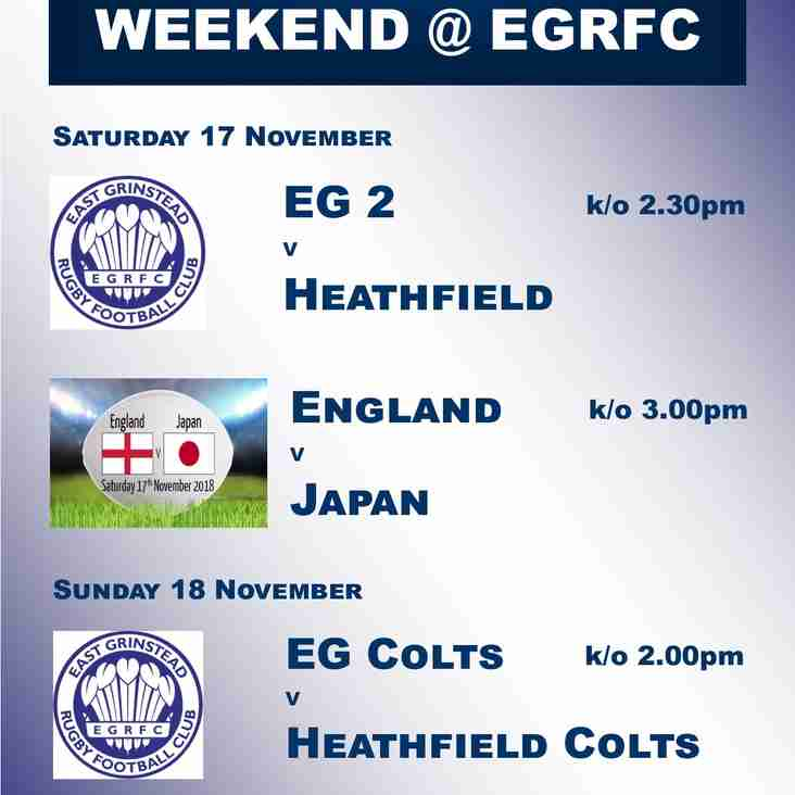 Big Rugby Weekend @ EGRFC