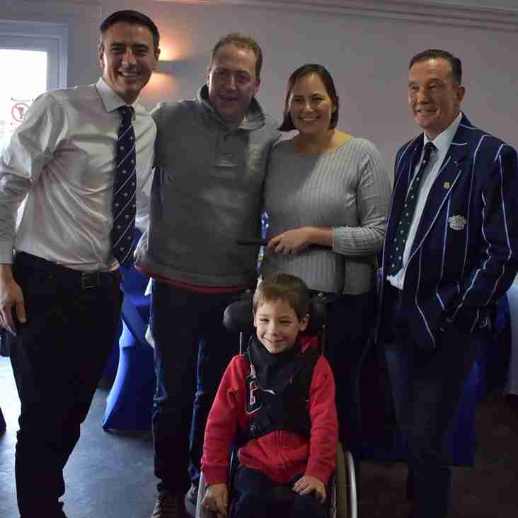 Sunshine Sevens presents £15,500 to local charities