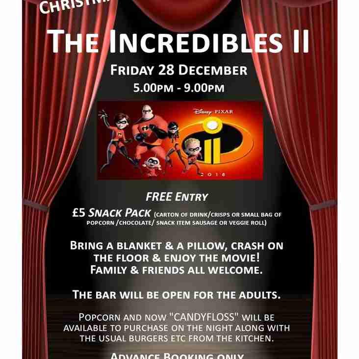 ** CANCELLED ** Christmas Kids PJ & Movie Night @ EGRFC