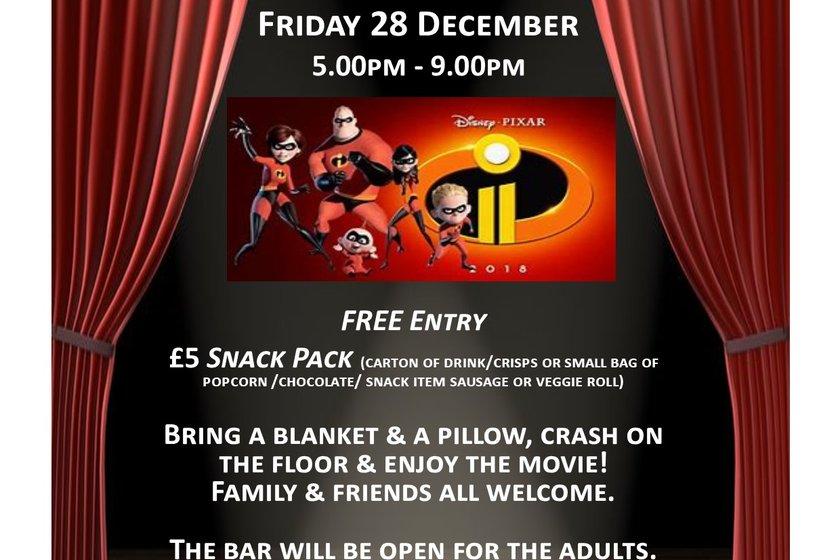 Christmas Kids PJ & Movie Night @ EGRFC