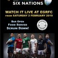 Watch the Guinness Six Nations 2019 Live at EGRFC