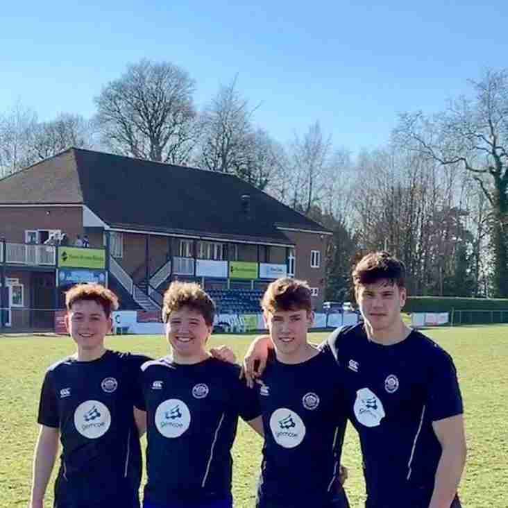 EGRFC Colts Selected for Sussex U17 County Squad