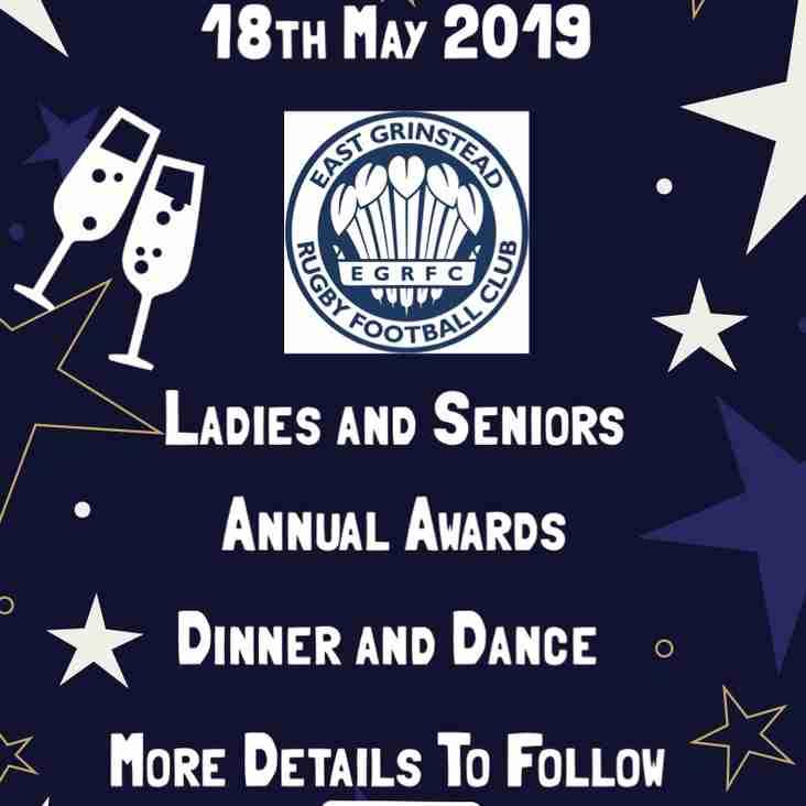 EGRFC Annual Dinner Dance