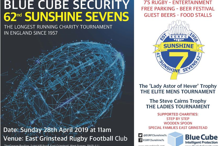 The Blue Cube Security 62nd Sunshine Sevens weekend is nearly upon us!
