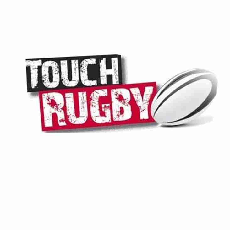 Fancy a Go at Touch Rugby Tomorrow?