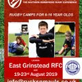 Summer Rugby Camp - BOOK NOW!