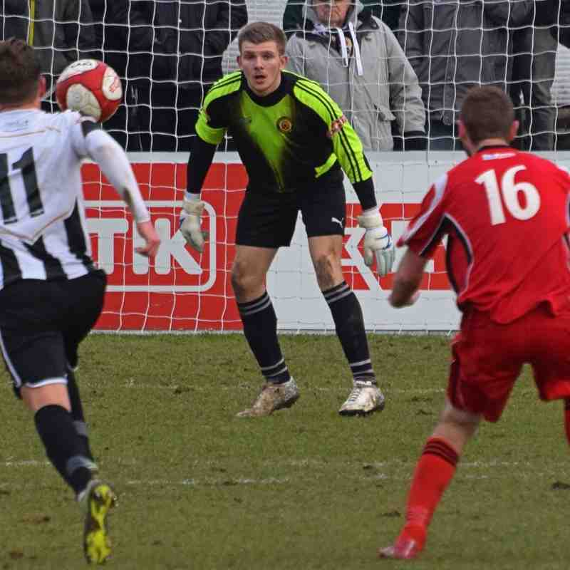 Spennymoor Town v Prescot Cables 12/03/16