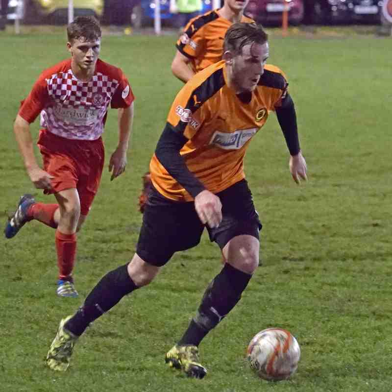 Ashton Town v Prescot Cables (Liverpool Senior Cup) 15-11-16
