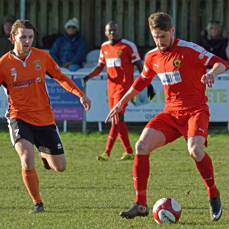 Brighouse Town v Prescot Cables 04-02-17