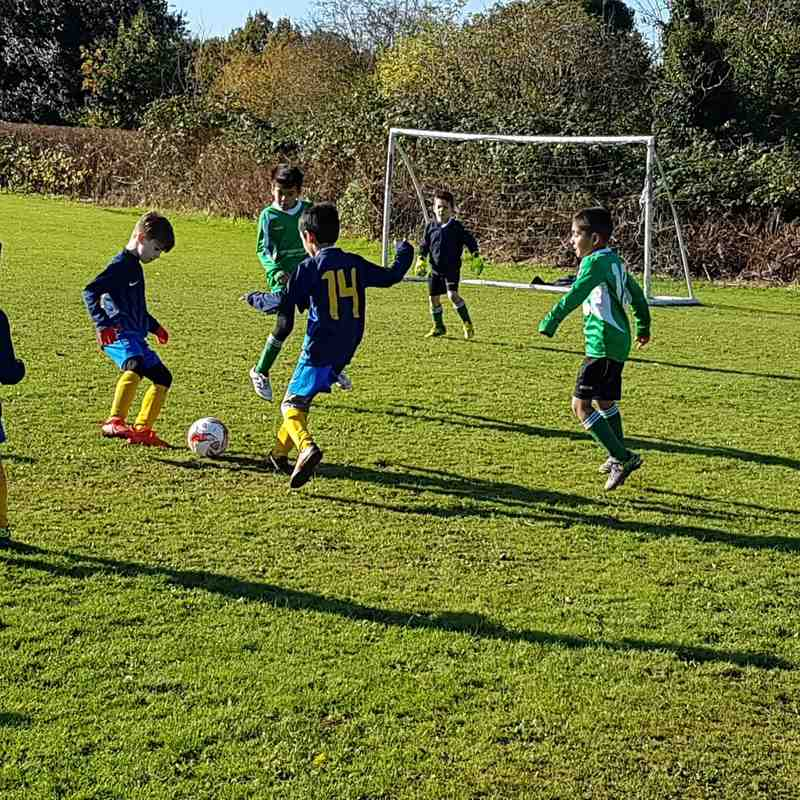 Croxley Green Black U7s - 6th Nov 2016