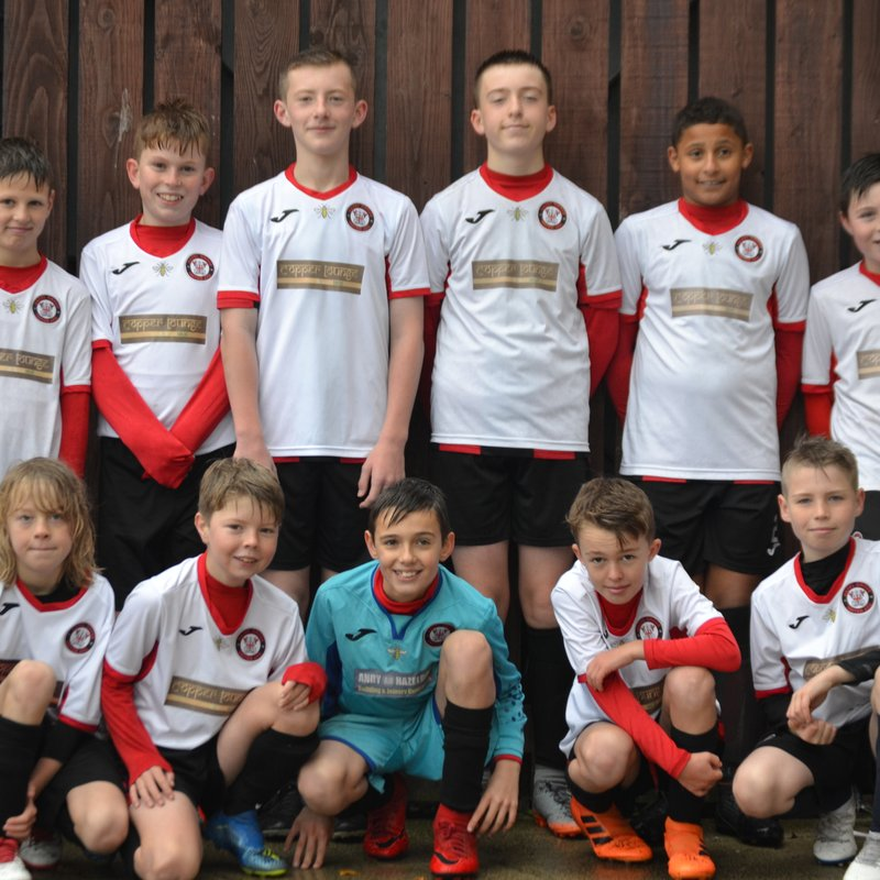 Hazel Grove U12s Hornets lose to Stockport County Colts 6 - 0