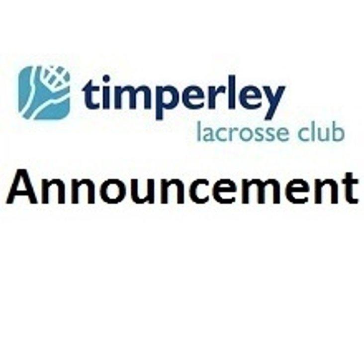 Timperley Sports Club AGM<