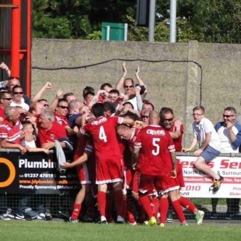Bideford AFC v Barnstaple Town - 29th August 2016