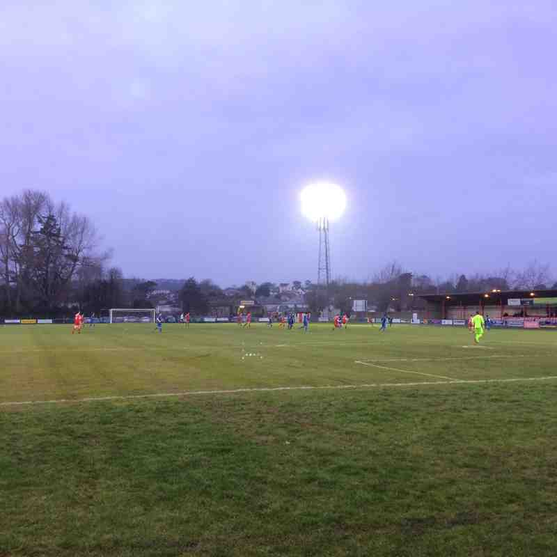 Bideford vs Winchester City 17/12/16