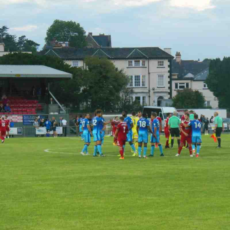 Bideford vs Grimsby Town - 18th July 2017