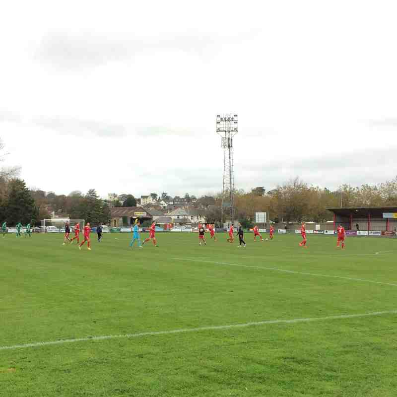 Bideford vs Slimbridge - 28/10/2017