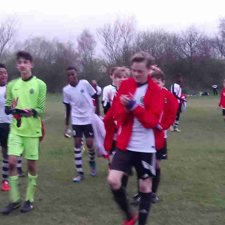 Under 14s Make the Cup Final