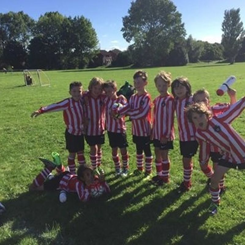 U10 Reds lose to Lisvane Panthers Green 1 - 0