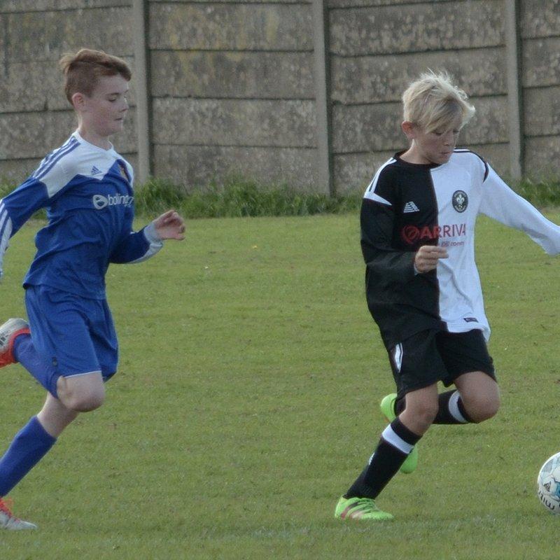 Under 13s Cup Match v Kiverton Park 11/9/16