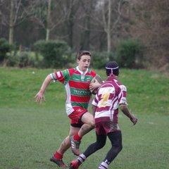 Warrington vs Rochdale u14's  part 1