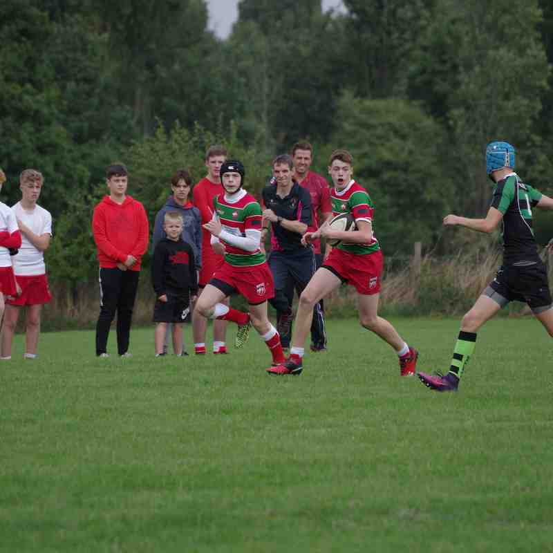Warrington vs Lymm u16's