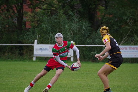 Warrington vs Leigh u16's