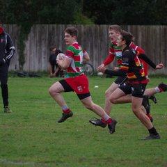Warrington vs Southport u16's