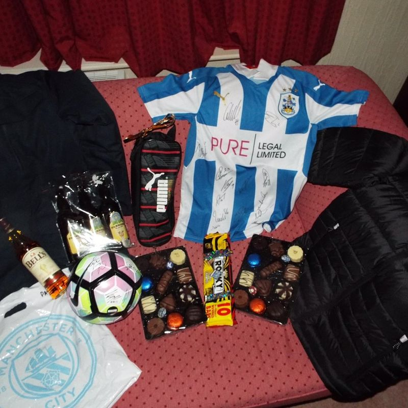 HTFC Christmas Raffle Winners