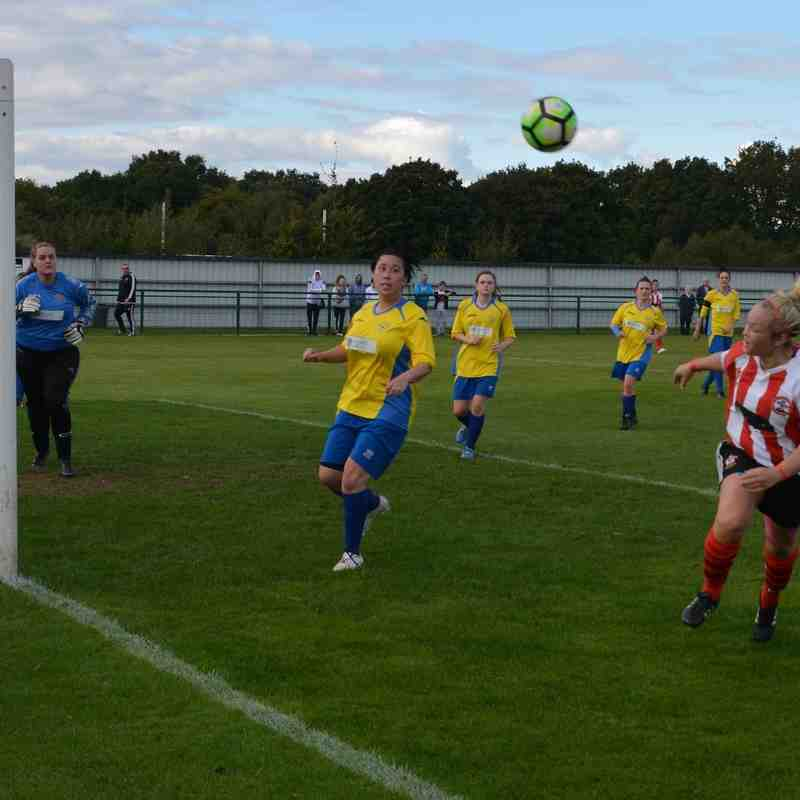 SSE WFA Cup Saints v Downend Flyers 10/10/2016