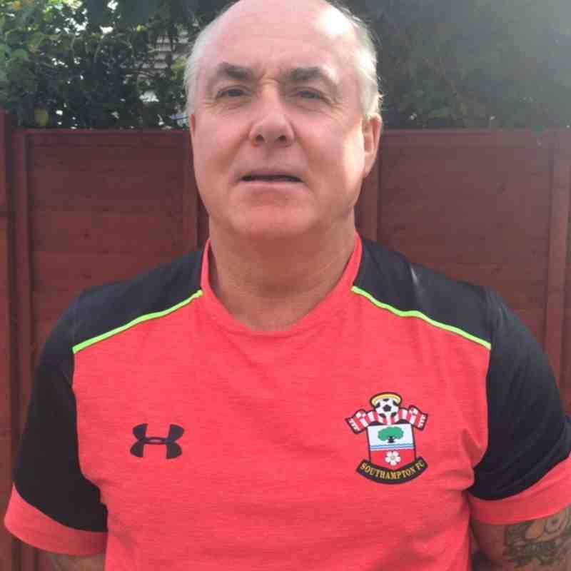 U12 Manager Ian Binks