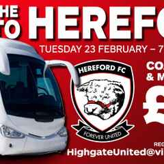 COACH TRAVEL TO HEREFORD