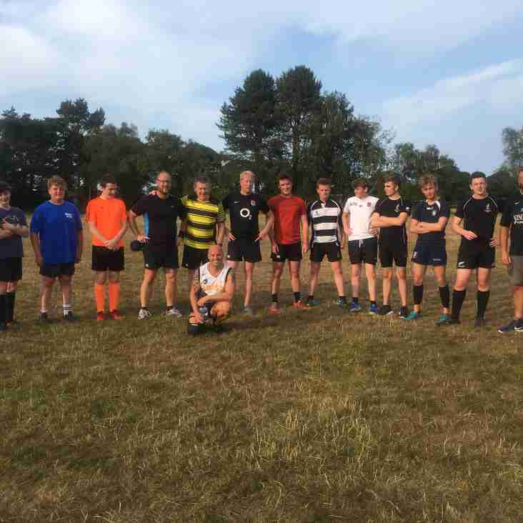 Touch Rugby is a year round game