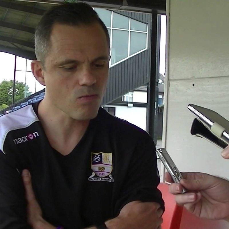 Neil Kitching Talks To Stafford FM & SRFC TV about yesterdays 1-0 win.