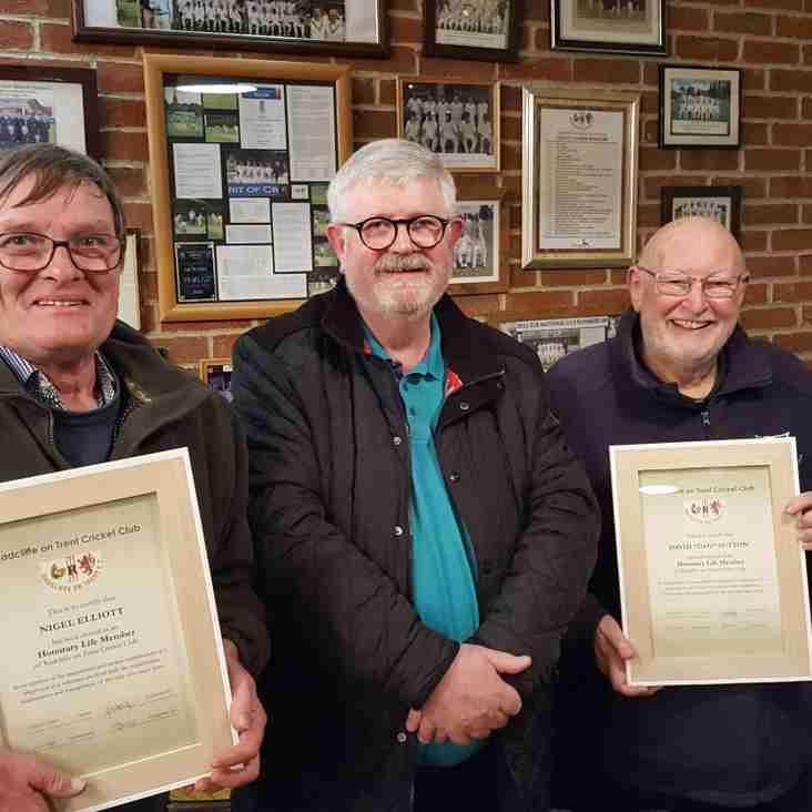 Honorary Life Members