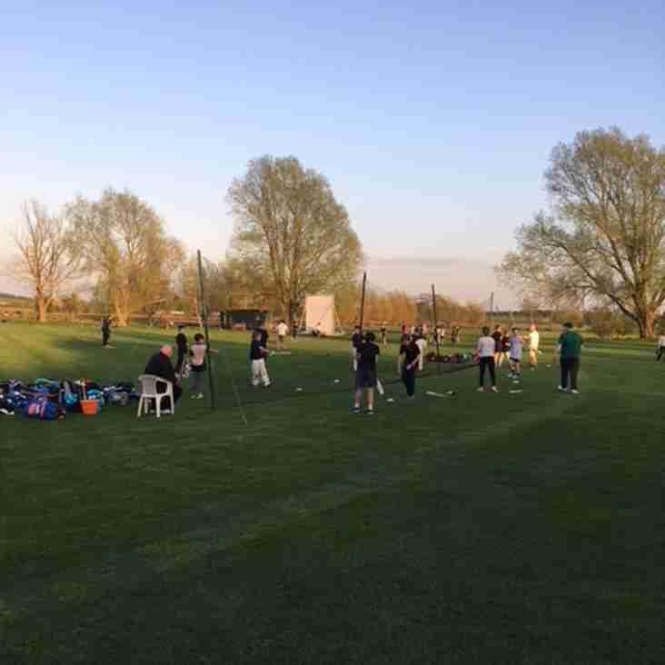 First Junior Cricket Club Night 20th April 2018