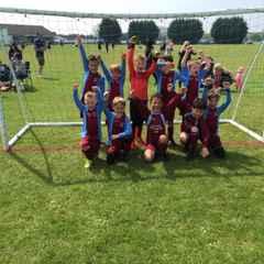 Deeping Rangers Claret's Under 8's