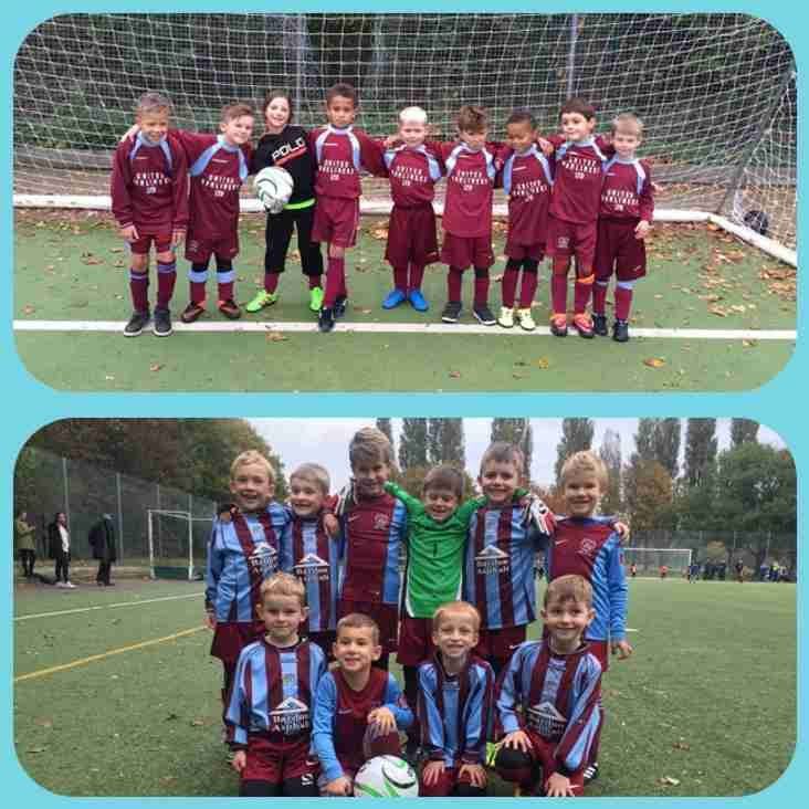 Under 7's at the Embankment