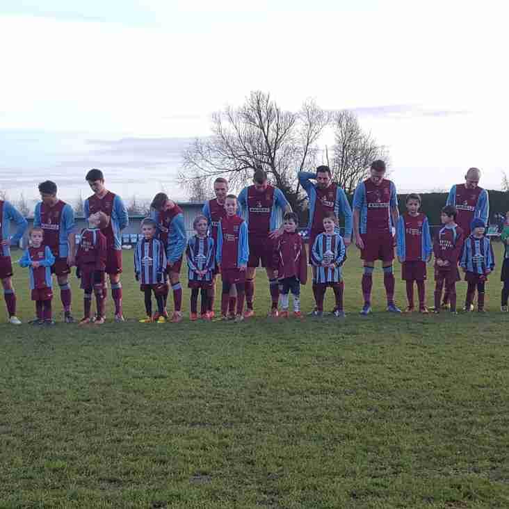 Soccer School bring First Team luck