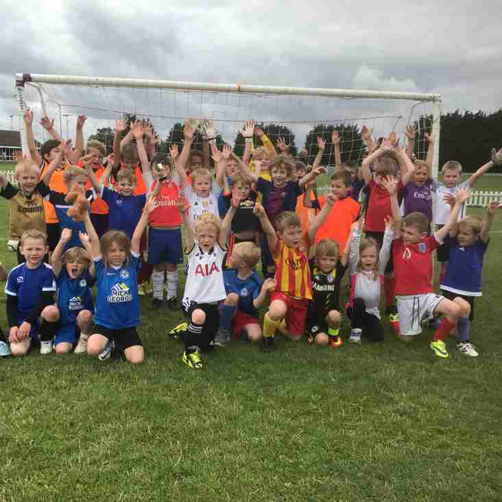 Summer Soccer School a success again!