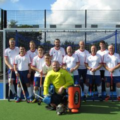 Fareham vs. United Services Portsmouth Hockey