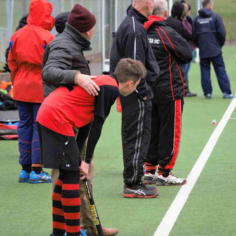 Worcester Hockey Club Under 16 Boys beat Bridgnorth 3-2