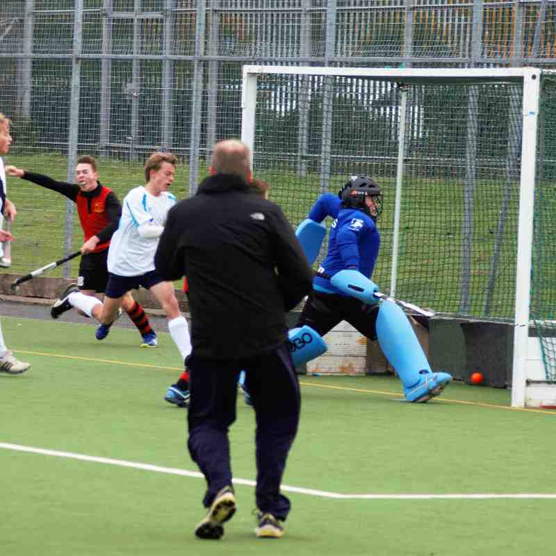 Worcester Hockey Club Under 16 Boys beat Bridgnorth 3-2