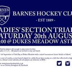 Ladies Trials ALL WELCOME! + BBQ